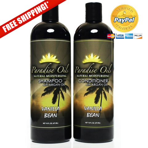 Paradise Oils Shower Pack - Vanilla Bean