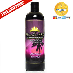Paradise Oils Natural Moisturizing Shampoo - Lavender Breeze