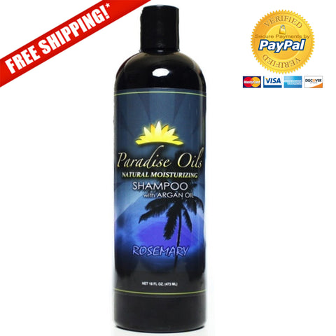 Paradise Oils Natural Moisturizing Shampoo - Rosemary