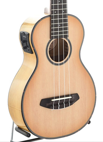 Breedlove: Lu'Au Concert Natural Shadow E Ukulele, with Bag