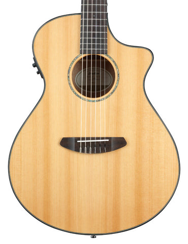 Breedlove: Pursuit Concert Nylon CE, Red Cedar Top with sides & Back in Mahogany