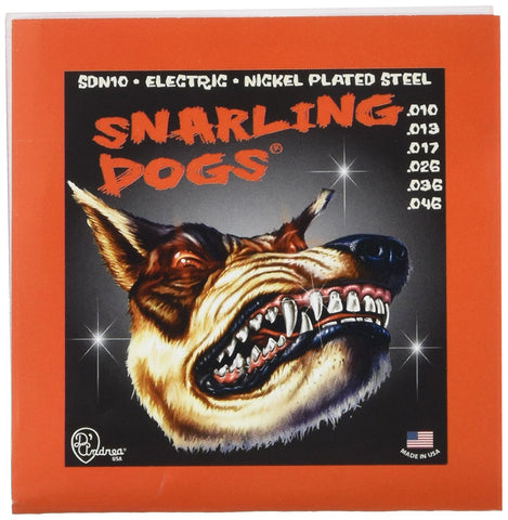 D'Andrea Snarling Dogs Electric Guitar Strings (.010 -.046)
