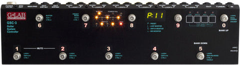 G Lab: Guitar System Controller GSC-3