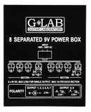 G Lab: 8 Separated 9V Powerbox PB-08