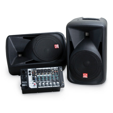 Superlux SP108 Portable P.A. System (1 Set)