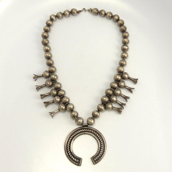 1920s Squash Blossom Necklace featured on Vintage Unscripted