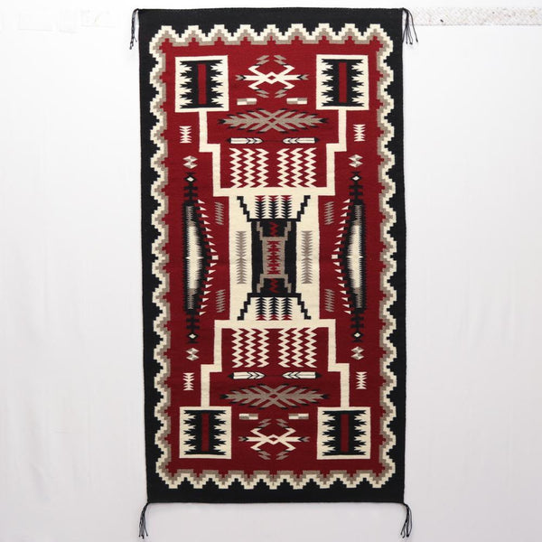 The Storm Pattern, A Navajo Weaving Design