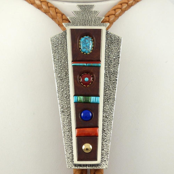 Colorful Inlay Cuff - Jewelry - Boyd Tsosie - 1