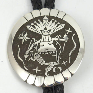 Apache Crown Dancer Bola Tie - Jewelry - Jerry Whagado - 1