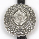 Stamped Silver Bola Tie - Jewelry - Sunshine Reeves - 1