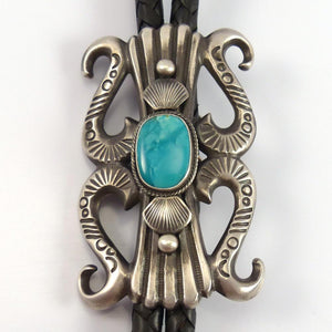Turquoise Bola Tie - Jewelry - Robert Chee - 1