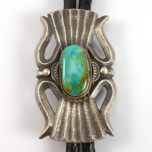 Royston Turquoise Bola Tie - Jewelry - Robert Chee - 1