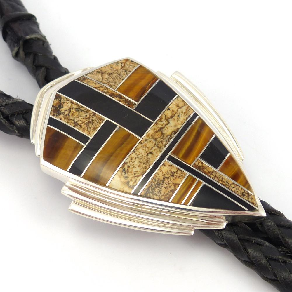 Native Earth Bola Tie - Jewelry - Tim Charley - 1