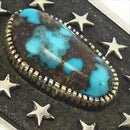 Bisbee Turquoise Eagle Bola Tie, Philbert Begay, Jewelry, Garland's Indian Jewelry