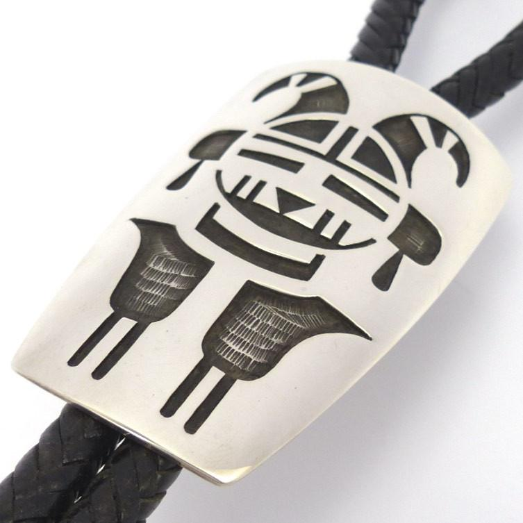 Two Horn Priest Bola Tie