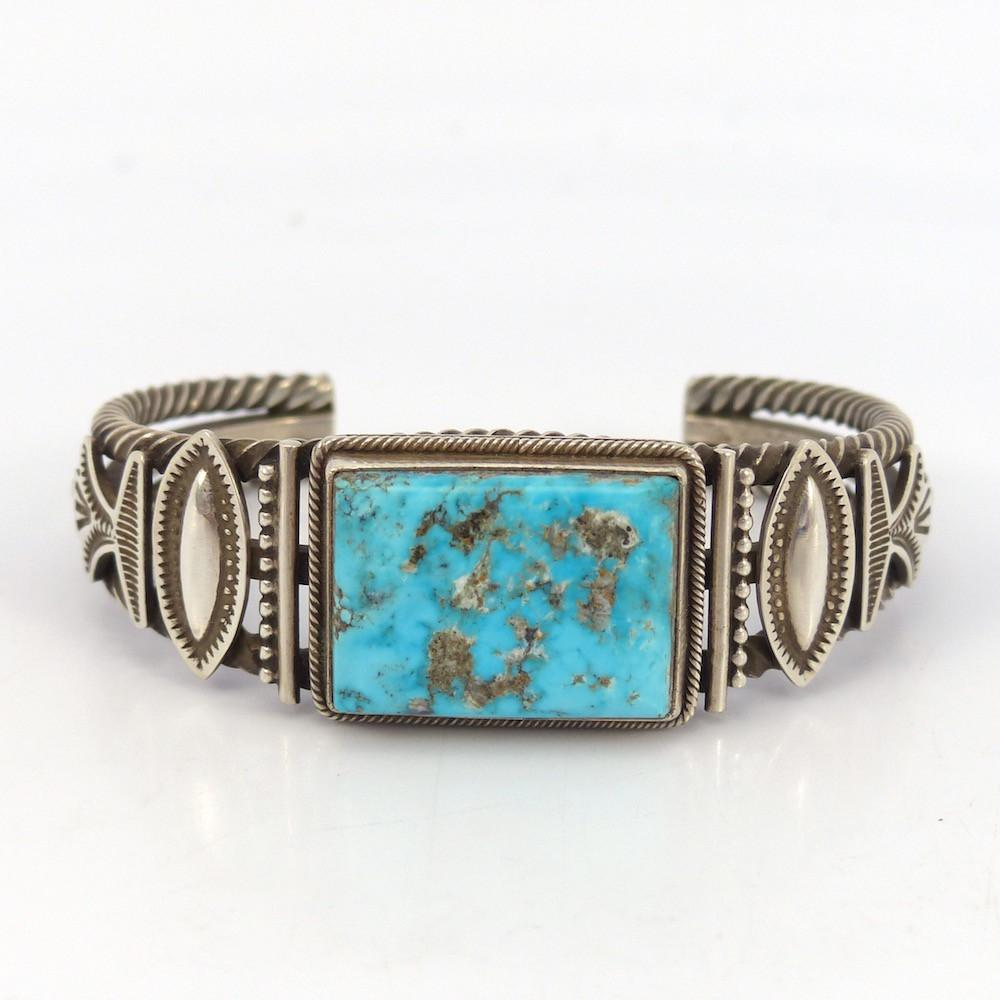 Turquoise Mountain Cuff - Jewelry - Ivan Howard - 1