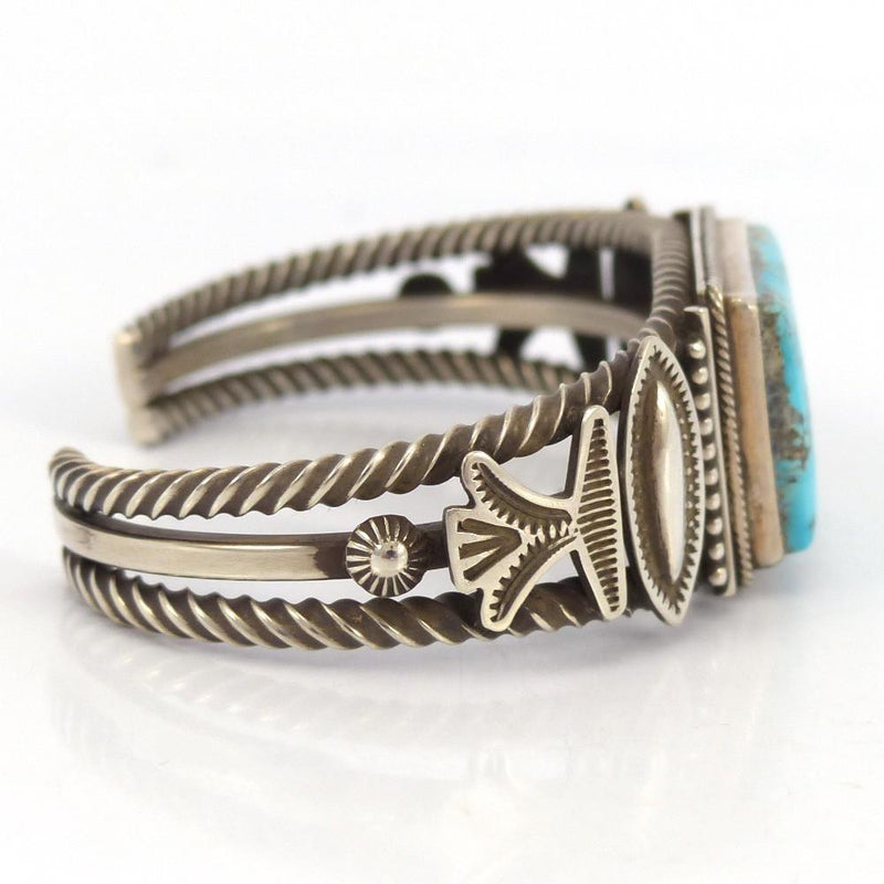 Turquoise Mountain Cuff - Jewelry - Ivan Howard - 4