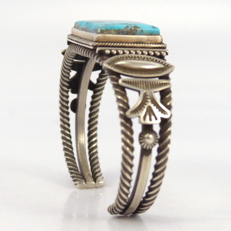 Turquoise Mountain Cuff - Jewelry - Ivan Howard - 3