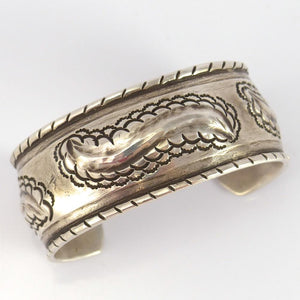 Silver Repousse Cuff - Jewelry - Greg Lewis - 1