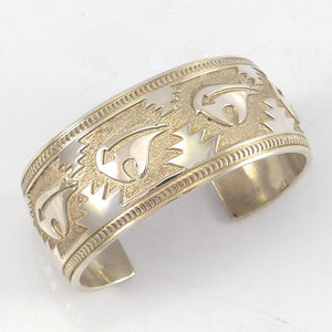Silver Overlay Cuff - Jewelry - Herbert Taylor - 1