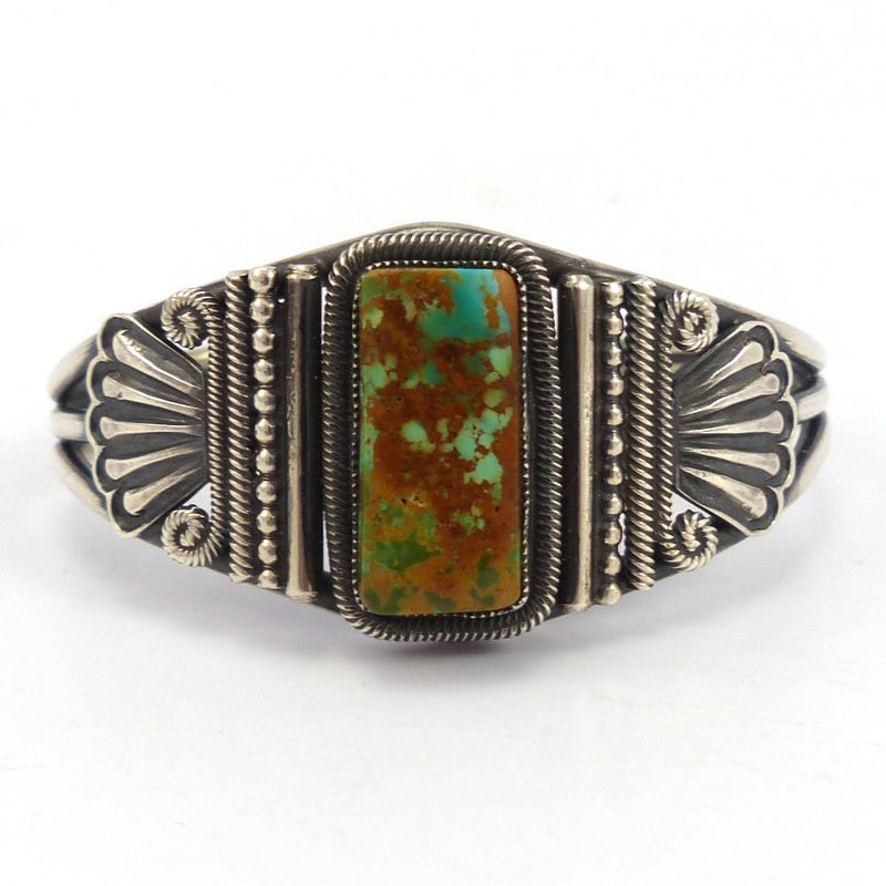 Royston Turquoise Cuff, Leon Martinez, Jewelry, Garland's Indian Jewelry