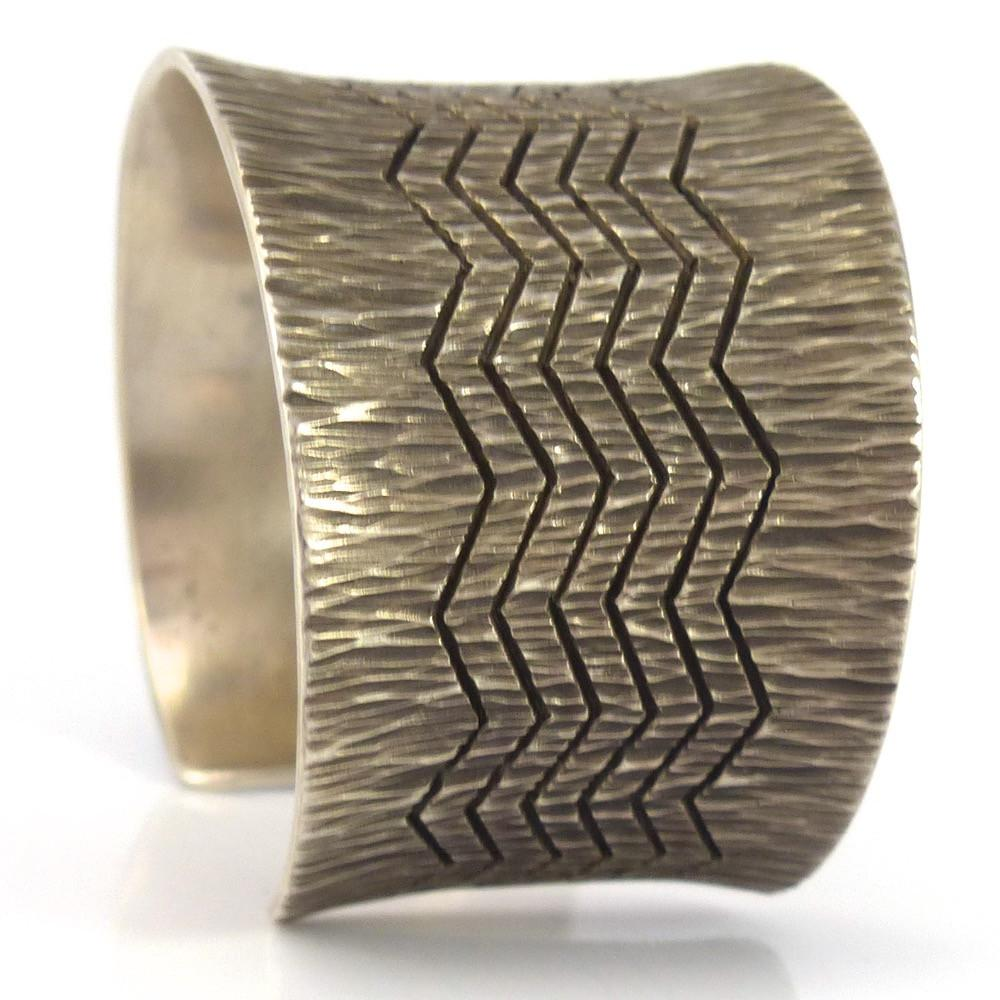 Zig Zag Cuff - Jewelry - Pete Johnson - 1
