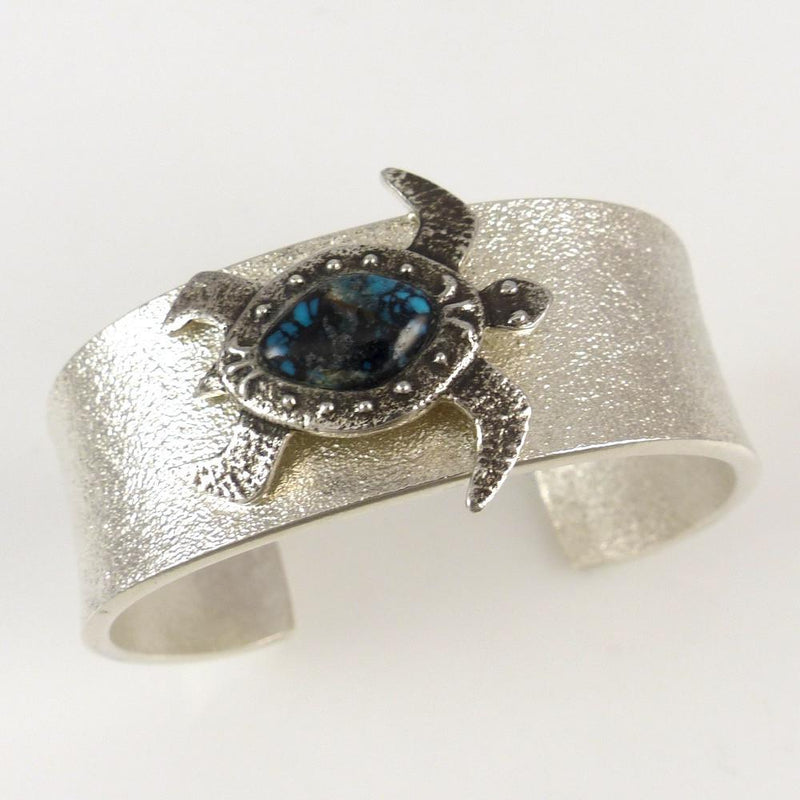 Turquoise Turtle Cuff - Jewelry - Darryl Begay - 1