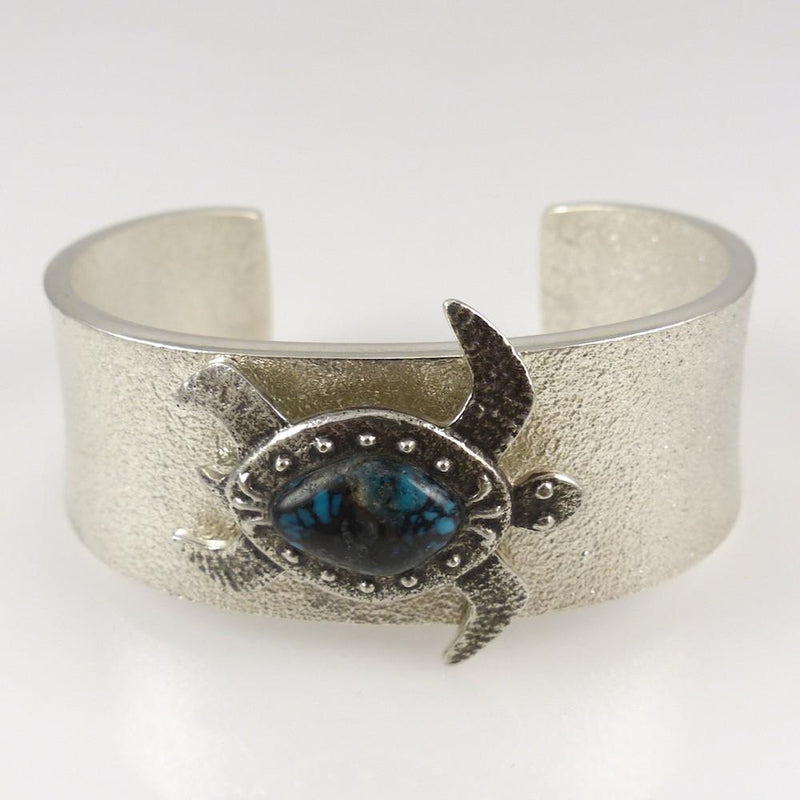 Turquoise Turtle Cuff - Jewelry - Darryl Begay - 2