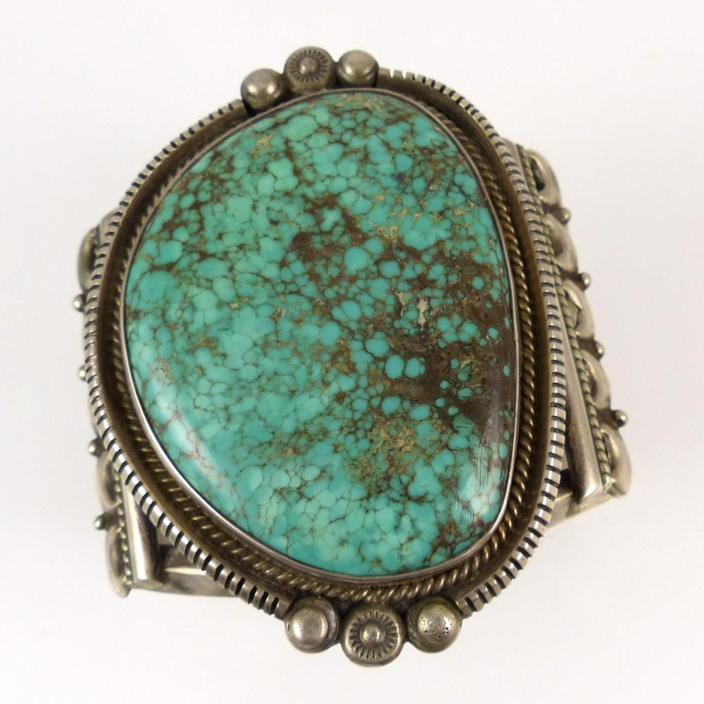 Vintage Turquoise Cuff - Jewelry - Vintage Collection - 1