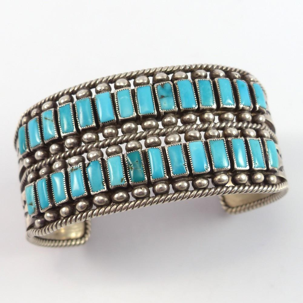 1960s Turquoise Cuff - Jewelry - Vintage Collection - 1