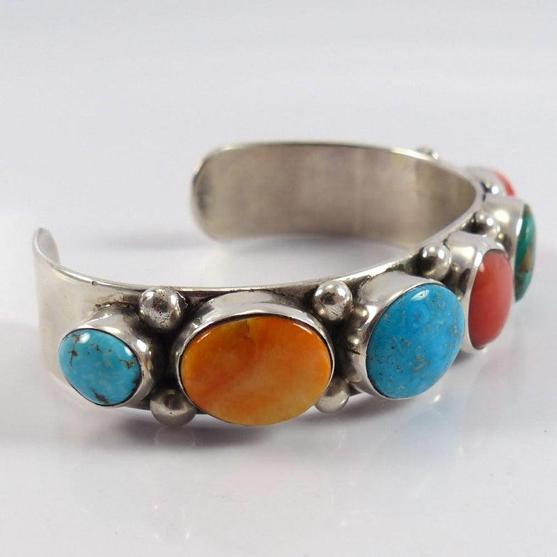 Multi-Stone Cuff - Jewelry - Clarissa and Vernon Hale - 2