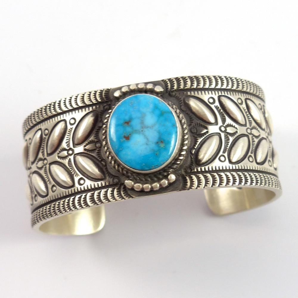 Turquoise Mountain Cuff - Jewelry - Herman Smith - 1