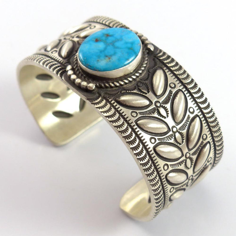 Turquoise Mountain Cuff - Jewelry - Herman Smith - 2