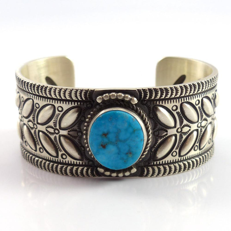 Turquoise Mountain Cuff - Jewelry - Herman Smith - 3