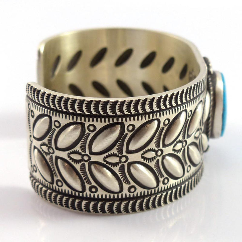 Turquoise Mountain Cuff - Jewelry - Herman Smith - 4