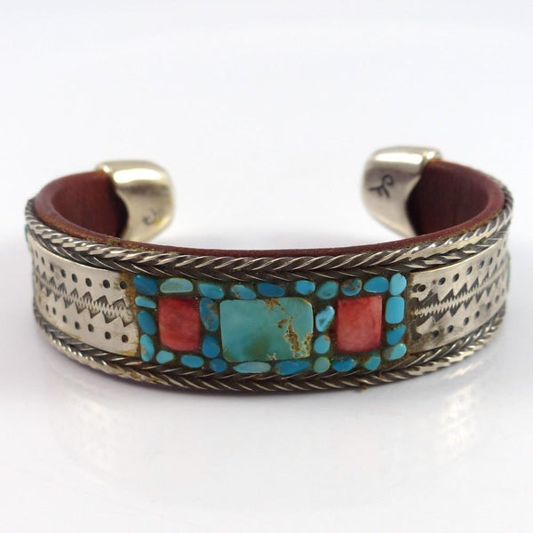 Multi-Stone Inlay Cuff - Jewelry - Charlie Favour - 1