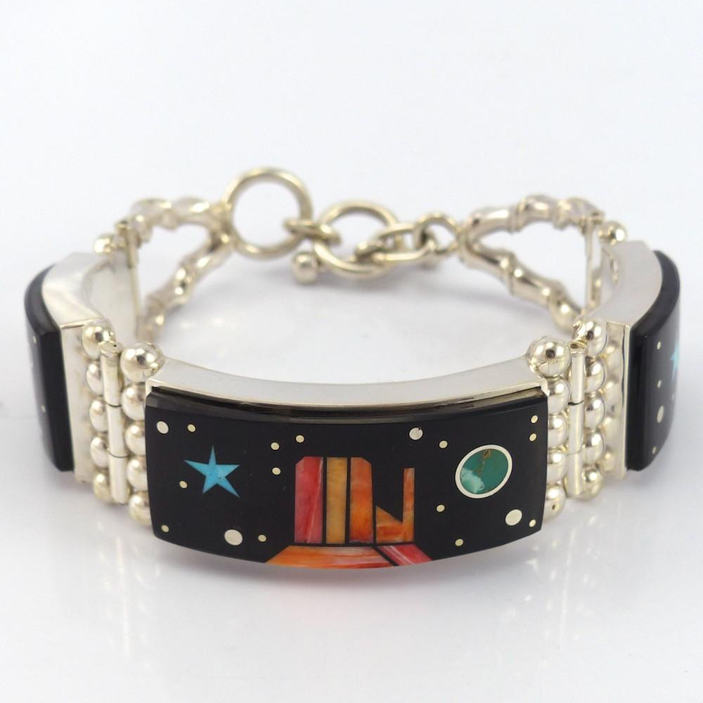 Monument Valley Link Bracelet - Jewelry - Bryon Yellowhorse - 1