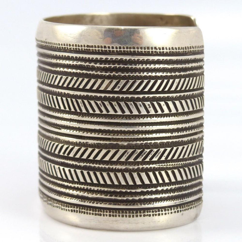 Stamped Silver Cuff - Jewelry - Edison Cummings - 5