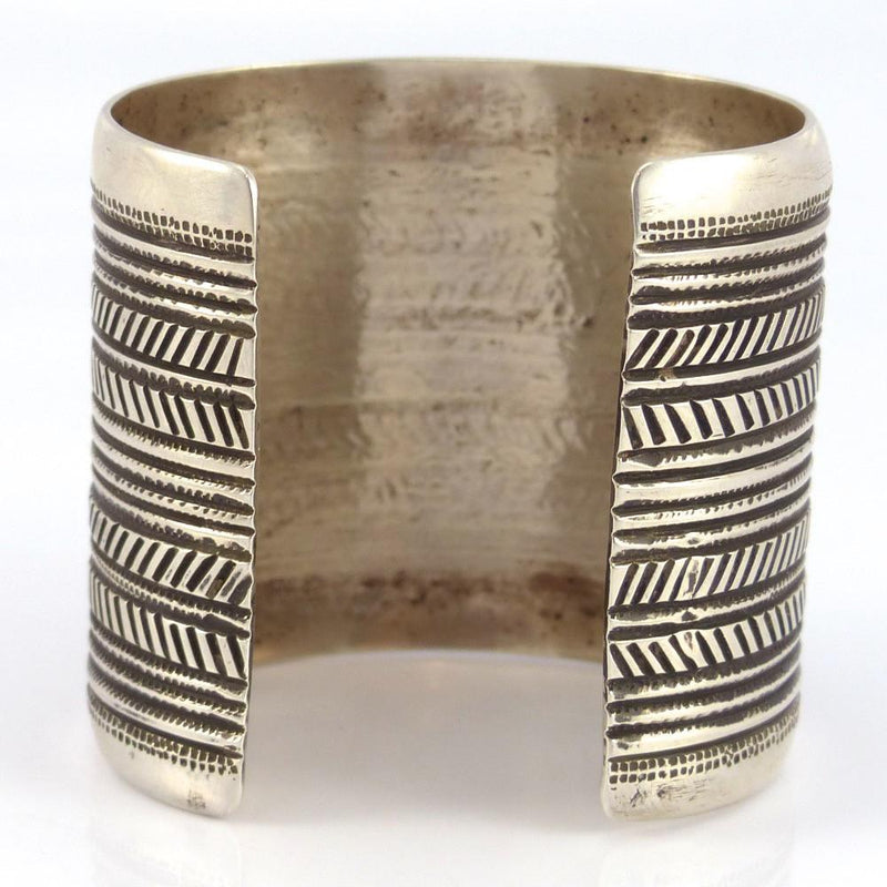 Stamped Silver Cuff - Jewelry - Edison Cummings - 6