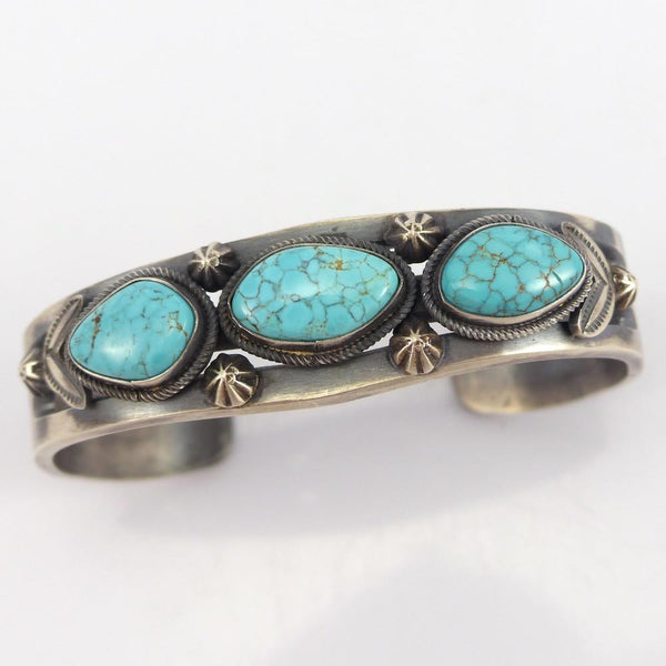 Cast Number Eight Turquoise Cuff