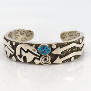 Kingman Turquosie Cuff - Jewelry - Alex Sanchez - 1