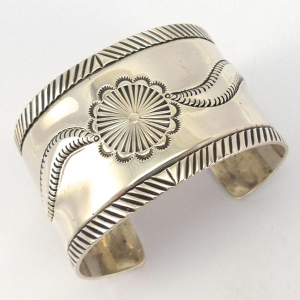 Ingot Silver Cuff, Vintage Collection, Jewelry, Garland's Indian Jewelry