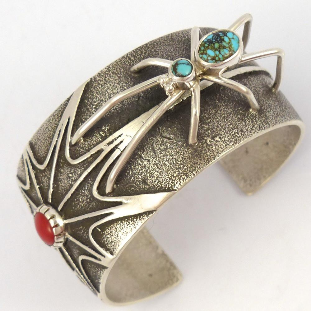 Spider Cuff, Fidel Bahe, Jewelry, Garland's Indian Jewelry