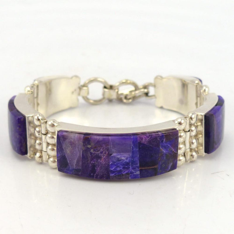 Sugilite Link Bracelet, Bryon Yellowhorse, Jewelry, Garland's Indian Jewelry