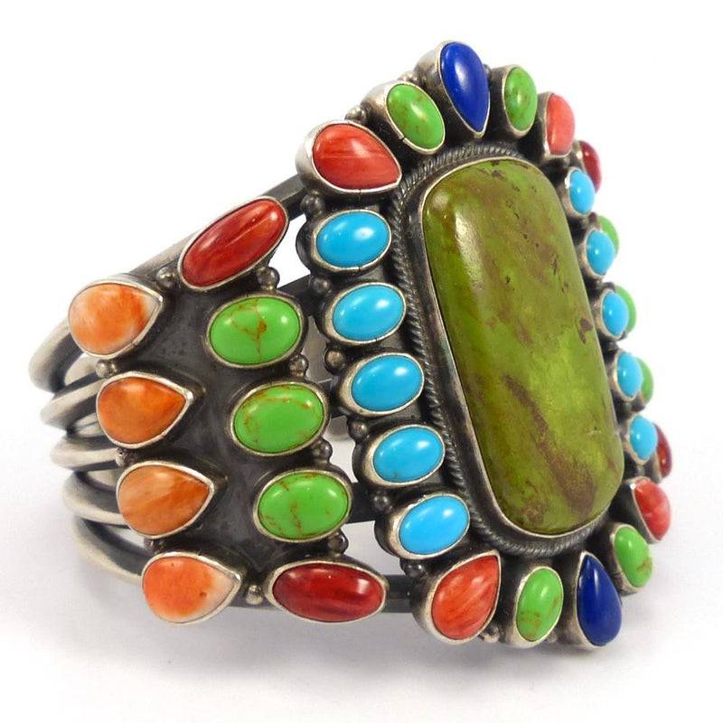 Colorful Cuff, Kirk Smith, Jewelry, Garland's Indian Jewelry