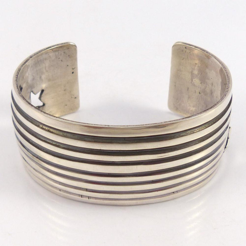 Silver Star Cuff, Andy Cadman, Jewelry, Garland's Indian Jewelry