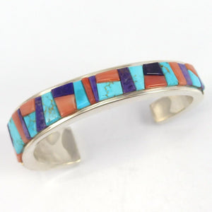 Colorful Inlay Cuff, Noah Pfeffer, Jewelry, Garland's Indian Jewelry
