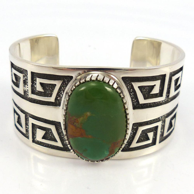 Royston Turquoise Cuff, Tommy Jackson, Jewelry, Garland's Indian Jewelry
