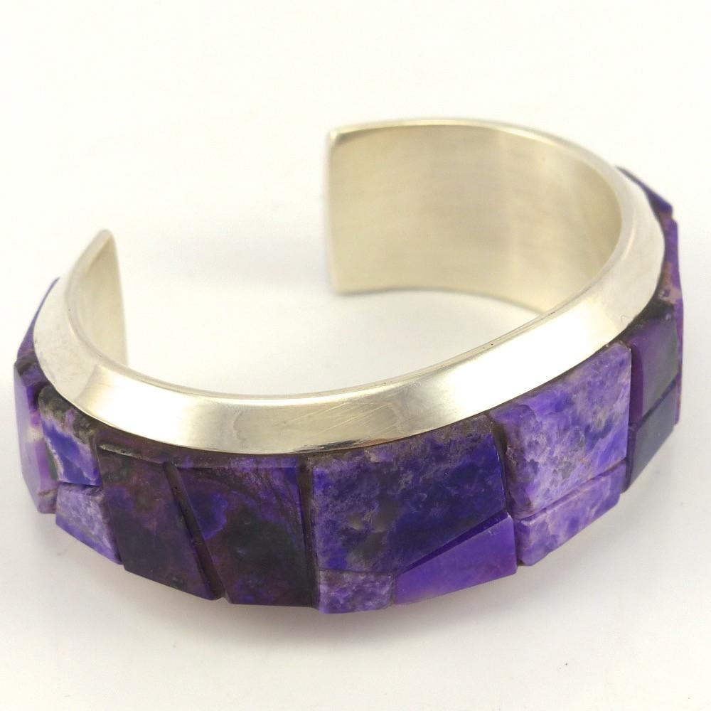Sugilite Cuff, Na Na Ping, Jewelry, Garland's Indian Jewelry