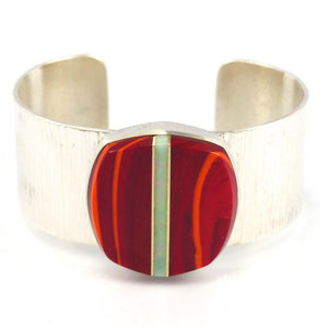 Multi-Stone Inlay Cuff, Duane Maktima, Jewelry, Garland's Indian Jewelry
